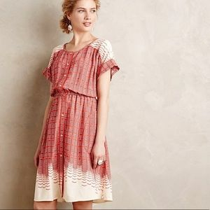 Anthropologie Maeve Veronica Shirt Dress Anthro